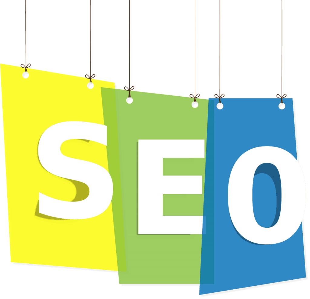 SEO displayed in a graphic