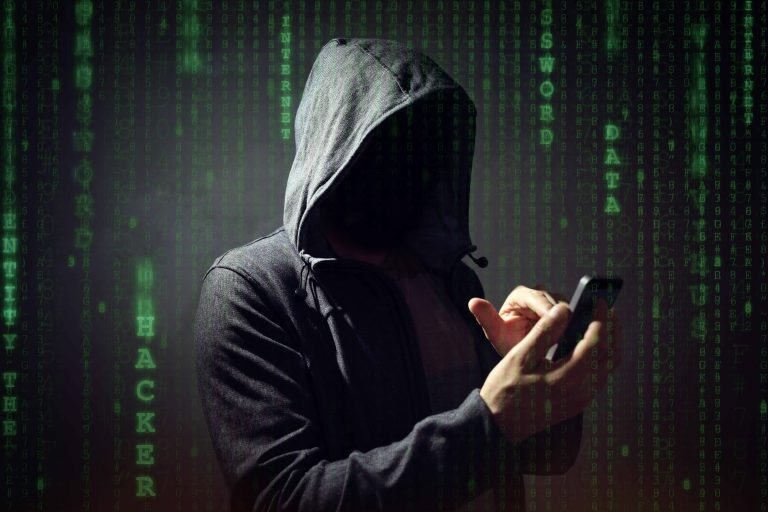 Man carrying out scams
