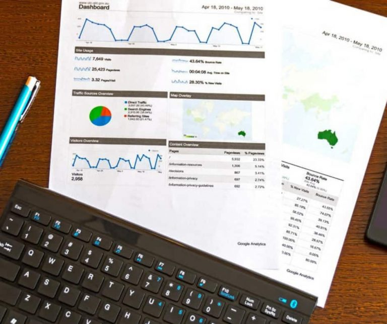dashboard analytics printouts